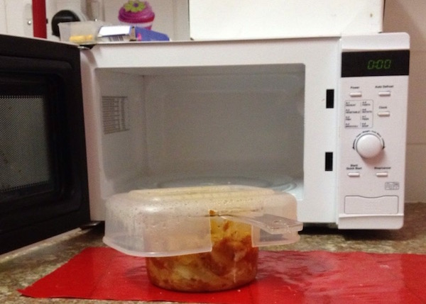 Microwaving other food safely