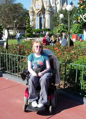 My powerchair in Florida