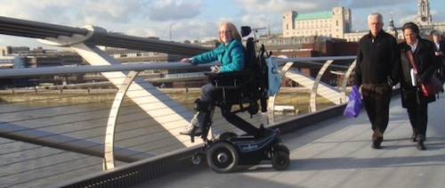 My Balder powerchair